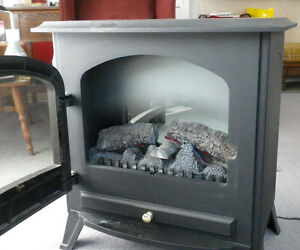 Dimplex Electric 'Woodstove' Fireplace