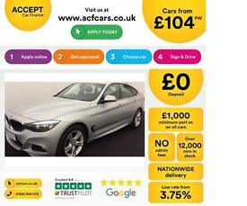 BMW 320 M Sport GT FROM £104 PER WEEK!