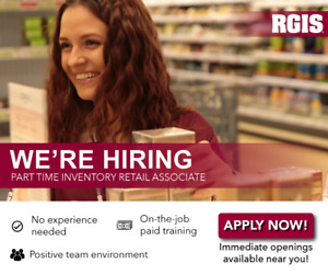 Part Time Retail Inventory Associate