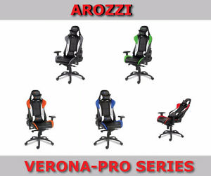 New Arozzi Gaming Chairs Various Series - Free Delivery On Now Cambridge Kitchener Area image 3