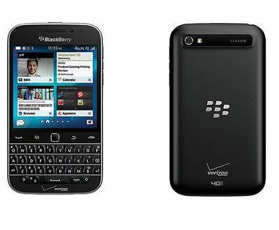 BlackBerry Classic Q20, 16GB Black SQC100-3 Verizon + Worldwide GSM Unlocked