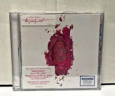 Nicki Minaj  The Pinkprint Cd  Deluxe Edition  New  Sealed