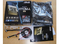 Asus H110M-A motherboard for Intel LGA 1151 Skylake, Kabylake with M.2 support