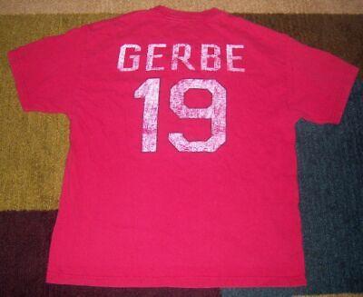 Vintage-Style NATHAN GERBE Portland Pirates AHL JERSEY Shirt XL Blue Jackets (Nathan Style)