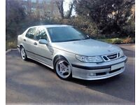 SAAB 95 9-5 TURBO 2.O SE MANUAL SALOON 2001 OUTSTANDING CONDITION!! LOW MILES