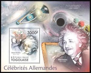 Togo-2011-ALBERT-EINSTEIN-with-e-mc-2-black-hole-gravitational-lensing-s-s-MNH