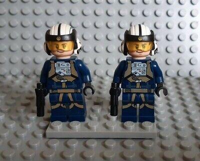 Lego Star Wars minifigures - 2 U-Wing Rebel Pilots