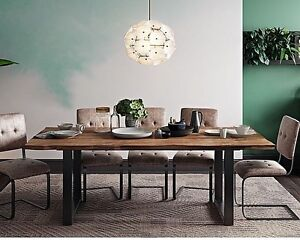 industrial dining table | ebay