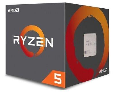 AMD Ryzen 5 1600X CPU BOX Prozessor, WOF, 6-Core, 3,6GHz, Socket AM4