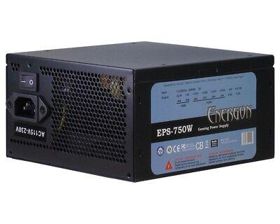 Inter-Tech 750Watt Energon EPS-750W PC Netzteil, LEISE 120mm Lüfter