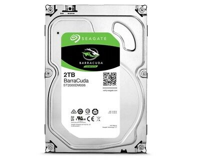 2TB Seagate BarraCuda, intern,8,89 cm (3,5 Zoll) (ST2000DM006) Festplatte sATA3