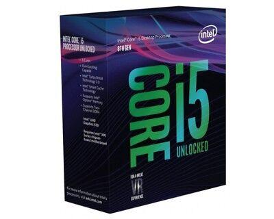 Intel i5 8600K CPU BOX Prozessor, 6-Core, 3,6GHz, Coffee Lake LGA 1151