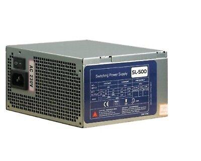 500Watt SL-500 Netzteil 500W *** NEU *** SEHR LEISE !!! 120mm Lüfter