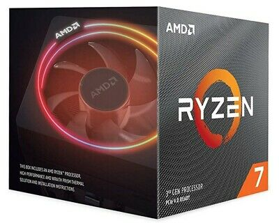 AMD Ryzen 7 3700X CPU BOX Prozessor, 8-Core, 3,6GHz, Socket AM4,100-100000071BOX