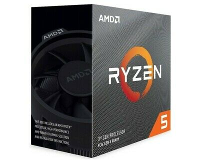 AMD Ryzen 5 3600 CPU BOX Prozessor, 6-Core, 3,6GHz, Socket AM4, 100-100000031BOX