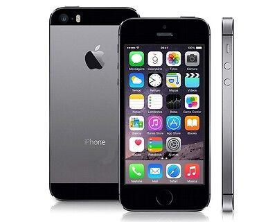 Apple  iPhone 5S - 16GB - Space Grau (Ohne Simlock) Smartphone A1457 gebraucht