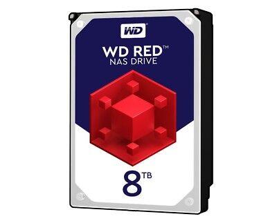 8TB Western Digital red WD80EFAX RAID Intern sATA3 Festplatte 24x7 NAS