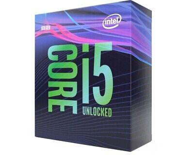 Intel i5 9600K CPU BOX Prozessor, 6-Core, 3,7GHz, Coffee Lake LGA 1151