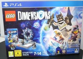 Lego Dimensions Starter Pack - New - for Xbox One and Sony PS4