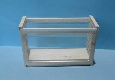 "Dollhouse Miniature Handcrafted plexi & wood store counter 4"" long. 1:12 scale for sale  Shipping to India"