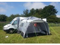 Iveco Campervan Conversion with Standalone Awning