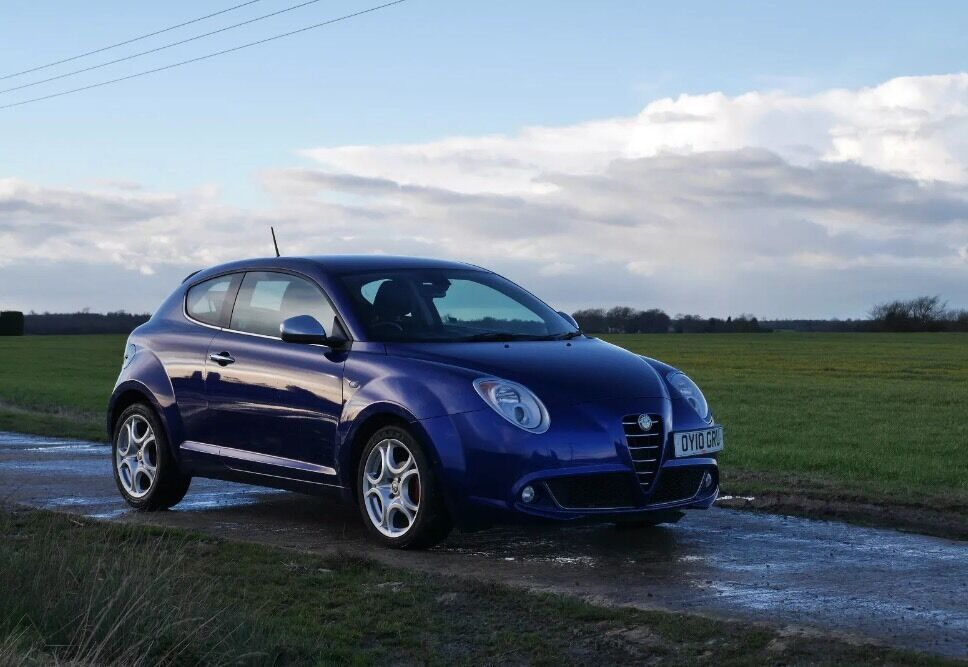 alfa romeo mito 1 4 16v veloce 2010 tornado blue in. Black Bedroom Furniture Sets. Home Design Ideas