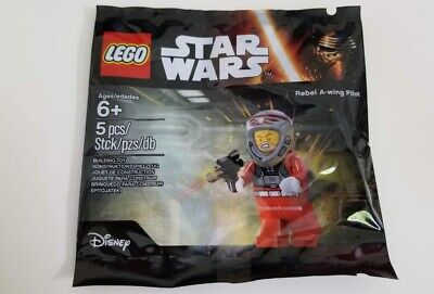 LEGO STAR WARS Rebel A-Wing Pilot Minifigure Polybag 5004408 - FREE SHIPPING
