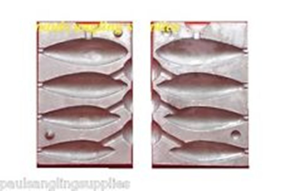 Sea Fishing Lead Weight Mould 3,4,5,6 oz Distance Mould
