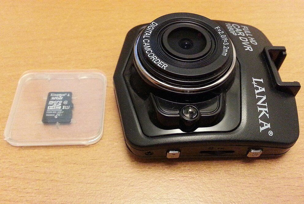 BOXED LANKA® FULL HD 1080P CAR DASH CAM