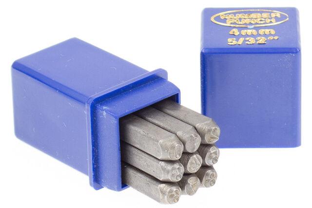 Schlagstempel Schlagzahlen 4 mm DIN 1451 Einschlagzahlen Punze Punziereisen BGS