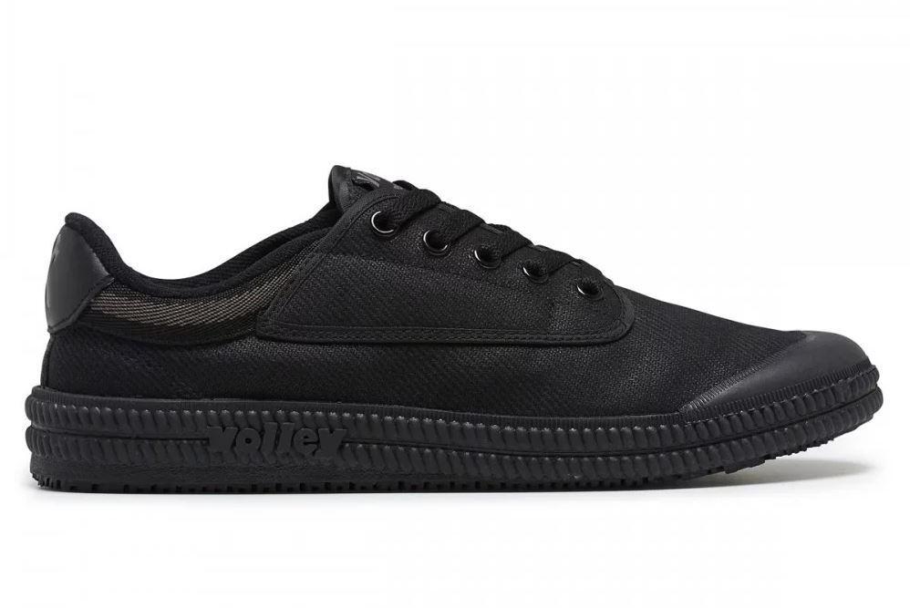 UK Fitting SUPER GRIP SOLE Soft Toe Dunlop Volley Original Black Classics