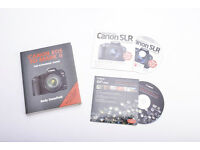 Canon EOS 5D Mark II - The Expanded Guide book + 2 x Canon discs