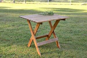 Patio Table - New Handmade - Recycled Wood Kurrajong Hawkesbury Area Preview