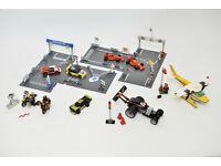 LEGO - formula, cars, plane, bikes 8123, 8124, 8896, 8164, 3178, 8119 DISPLAYS FROM LEGO FACTORY