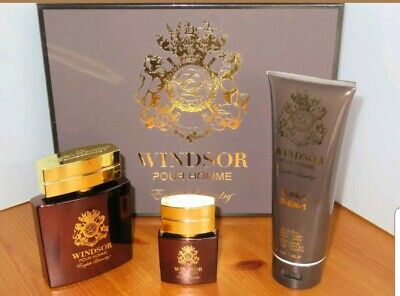 Windsor Pour Homme English Laundry Men's 3 Piece Gift Set *Store Display (Mens Gift Store)