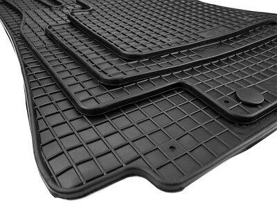 Gummimatten für Mercedes A-Klasse W169 Premium Qualität Fußmatten Allwetter