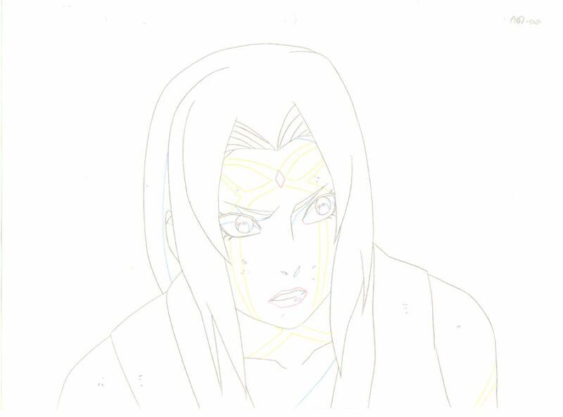 Anime Genga not Cel Naruto #158