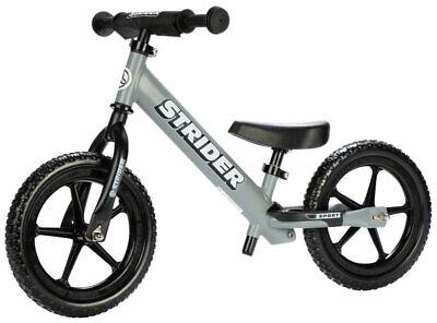 NEW Strider 12 Sport Balance Bike - Matte Gray