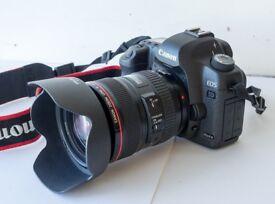 Canon EOS 5D Mark II 21.1MP Digital SLR Camera Kit w/ EF 24 -105 L IS USM