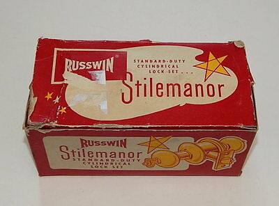 Russwin Stilemanor Standard Duty Cylindrical Lock Set In Box R10964