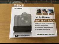 Battery pack Camera