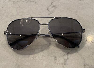 DKNY Sunglasses DK102S Aviator Grey Brand New With Case