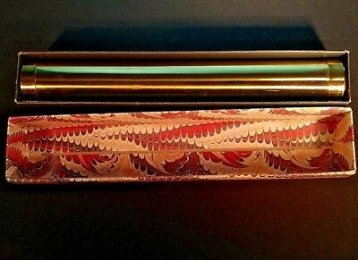 Collectible Antique Brass Kaleidoscope With The Original Box  Pictured