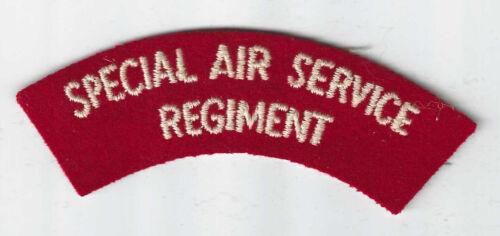 Special Air Service Regiment Title /  Patch