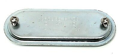 Crouse-hinds 470 1-14 Cover For Form 7 Condulet Body