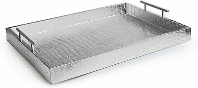 American Atelier Alligator Platter Serving Tray with Handles 14 x 19