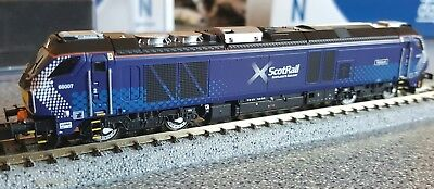 Dapol N gauge Class 68 - 68007 'Valiant' in Scotrail Livery, Dcc Sound Fitted.