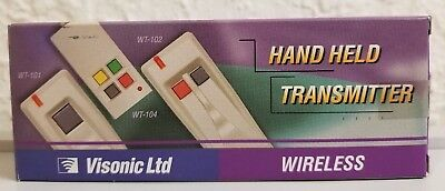 Visonic Ltd. WT-101A Single Channel Handheld Wireless Transmitter
