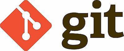 Git Github Repo Repository Vinyl Diecut Sticker 4 Stickers