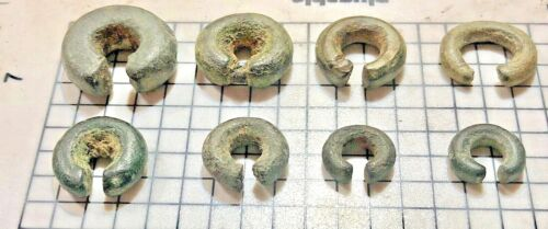 Ancient Celtic Money Rings, Antique Javanese, Indonesian Currency Trade Rings